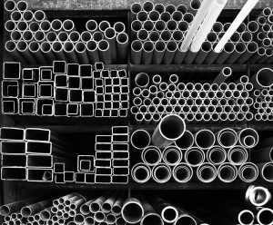 Steel Pipes Industry Material stack storage